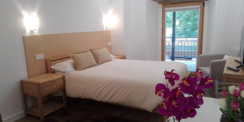 Amplias y cómodas habitaciones.