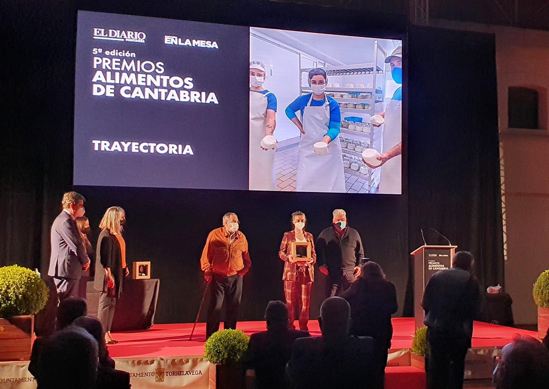 Premio a la trayectoria a Quesería La Jarradilla